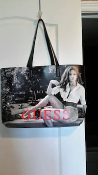 new guess tote BAG . AVAILABLE.  Burlington