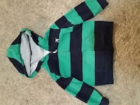 green and black striped long-sleeved shirt Yonkers, 10701