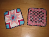 Hand Made Pot Holder / Oven Mitts Calgary