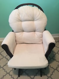 White and black sofa chair Toronto, M1L 0A3