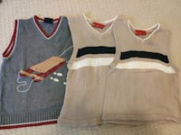 Size 5/6 boys sweater vests  Markham, L6C