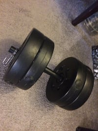 1x30lbs dumbbell weights  Oak Lawn, 60453