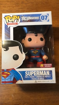 PX Previews Exclusive Superman Funko Pop