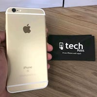 gold iPhone 6s with box 1507 mi