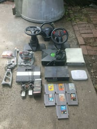 games and console as is condition  Bridgeport