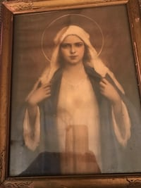 Immaculate Mother Mary print-antique  Alexandria, 22302