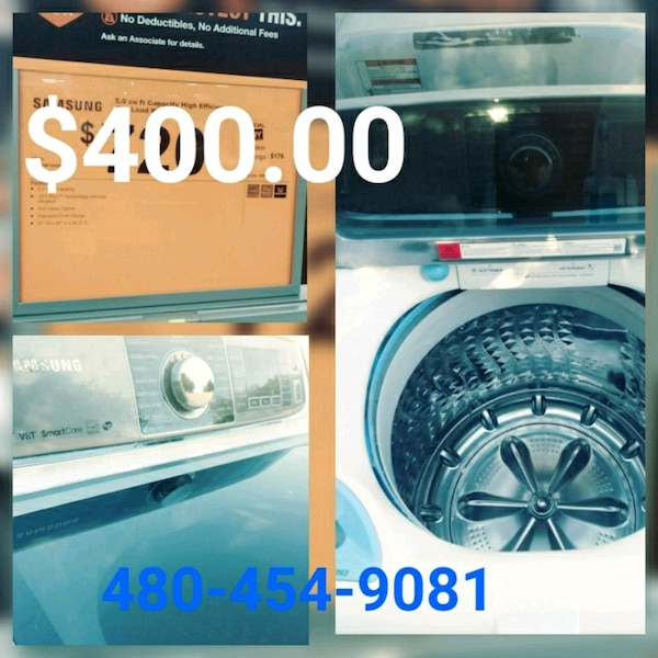 Washer for n sale ask about appliance repair