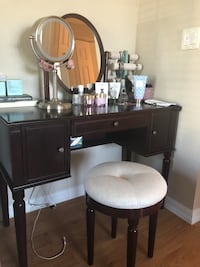 brown wooden desk with chair North Port, 34288