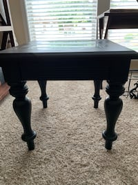 All wood end side table Meridian, 83642