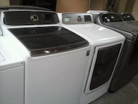Samsung HE washer & steam electric dryer  Irving, 75060