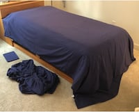 Extra-Large Twin Sheet Set (JC Penney, Navy Blue) Carlsbad, 92009
