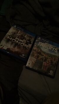 PS4 For Honor and farcry 5 Barrie, L4N 8W6