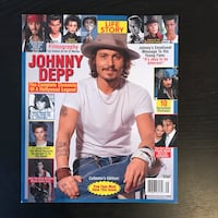 Johnny Depp Collector Magazine Los Angeles, 90029
