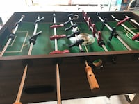 Brown and green foosball table Potomac