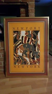 NEW YORK JAZZ FESTIVAL POSTER SIGNED NUMBERED Daphne, 36526