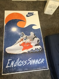 Nike shoe poster limited addition London, N6G 0T1