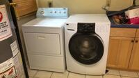 white front load washer and dryer set Columbus, 31907