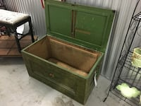 Big Green Wooden Chest Jacksonville
