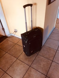 black and gray luggage bag Los Alamitos, 90720