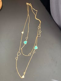 """Berricle Gold Flashed 26"""" Necklace New in Box! Toronto, M3C"""