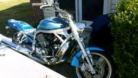 blue and black cruiser motorcycle Raleigh, 27608