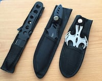 Throwing Knives - Three Sets One is Smith and Wesson 456 mi