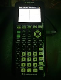 Texas Instruments TI-84Plus CE Graphing Calculator - New best offers accepted  New Haven, 06511