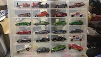Huge lot of Hot Wheels in clear cases Mississauga, L5R 3S1