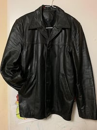 Leather Jacket (Large/Black)  (Used) Toronto, M4C