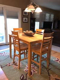 Counter height table and 4 chairs Mount Airy, 21771