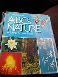 Readers Digest ABCs of nature book Huntsville, 35816