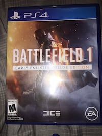 Ps4 battlefield 1 game Mill Hall, 17751