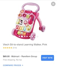 Pink and purple vtech learning walker screenshot Englewood, 07631