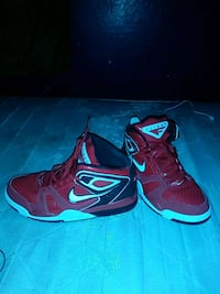 pair of red-and-black Nike basketball shoes Phoenix, 85339