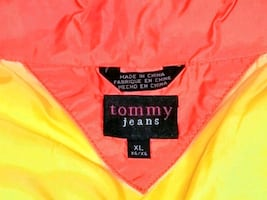 Women's size XL Tommy jeans Gray peacoat xxl pepe jeans mens shirt 3xl