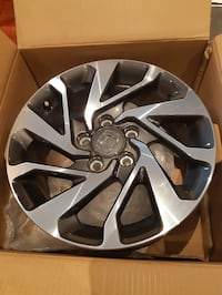 2018 civic rims Size 16. Slightly used. Mississauga, L5C 3X6