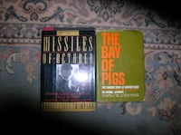 Two (2) Books About the Cuban Missile Crises Springfield