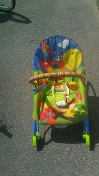 baby's multicolored bouncer Fairhope, 36532