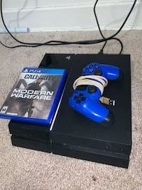 PS4 1tb With Controller n Call Of Duty Modern Warfare