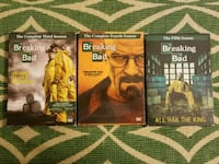 Breaking Bad Seasons 3,4,5 Baltimore, 21202