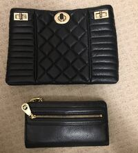 Black leather Marciano bag include mk wallet Markham, L3T