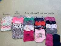 Lot of 22 short sleeve baby girl onsies Willowbrook, 60527