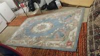 Blue and multi-colored floral rugIt has been cleaned Bethlehem, 18018