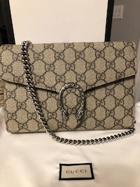 Gucci Dionysus Chain Wallet Like New Receipt $1399 Firm  Toronto, M3H