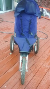 baby's black and blue jogging stroller Manassas, 20110