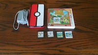 Special edition pokemon 2ds with 5 games .. Newton, 07860