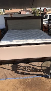 white and gray bed mattress Bakersfield, 93307