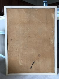 Wood framed cork board Ellicott City