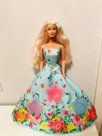 Barbie Doll with Floral Dress Chino Hills, 91709