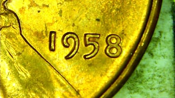 1958 Lincoln Wheat Cents, 28